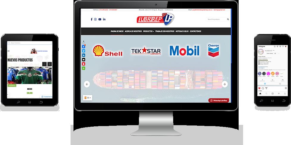 Somos Joralmor Web desarrollo web y de Tecnologia